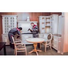 Собрать кухню и установить вызвать мастера