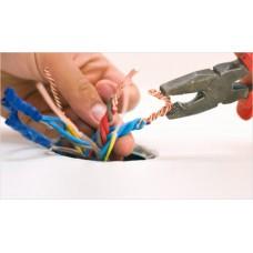 Проводка выключатели розетки люстры, бра, антенный и телефонный кабеля