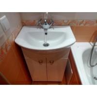 Установка раковины в ванной (или кухне)