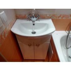 Установка раковины в ванной или кухне