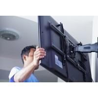 Повесить телевизор на стену