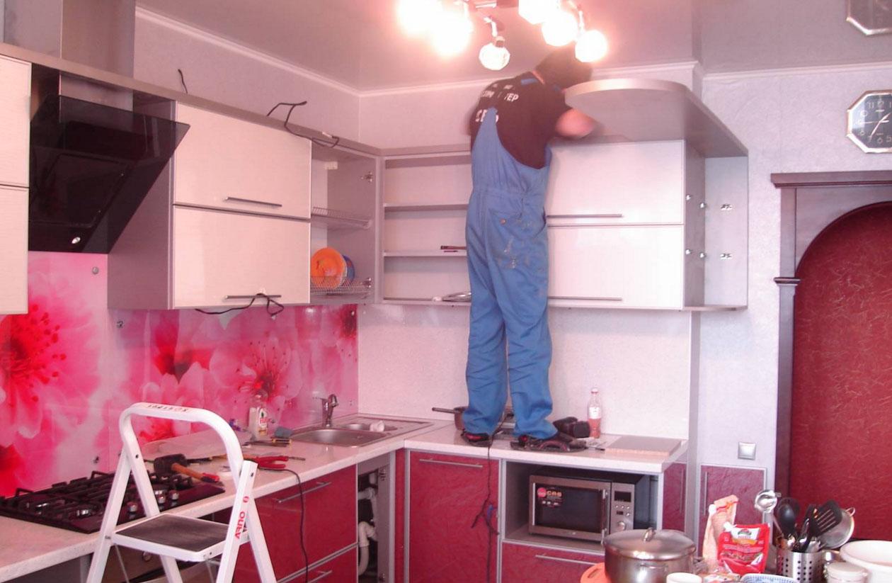 мастер по установке кухни