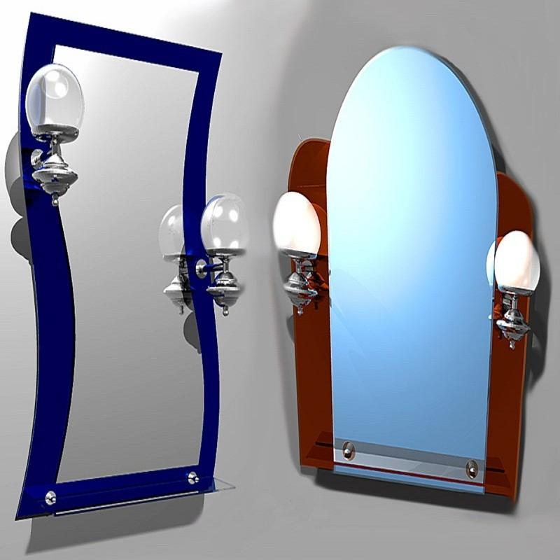 повесить зеркало спб